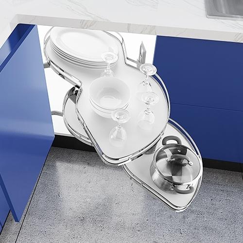 五金厨房拉篮怎么配置才不会浪费厨房里的空间?